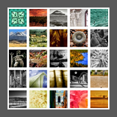 a thumbnail image link representing the entire collection of photographic images