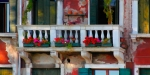 Balcony Along the Grand Canal - Venice (Painterly Photograph)