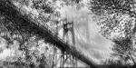 St Johns Bridge - Multiple Exposure